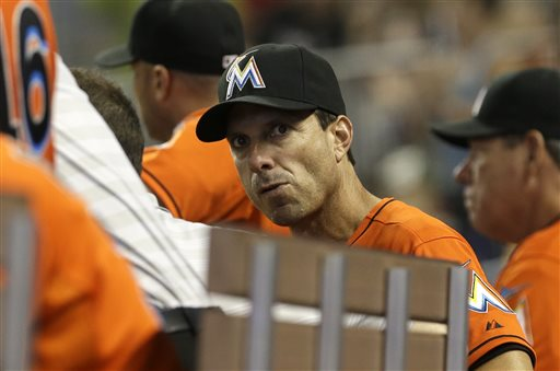 Tino Martinez worked as a hitting coach for the Miami Marlins last year. (AP)