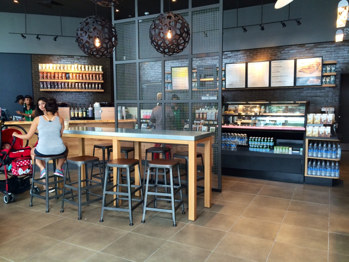 PHOTOS: Starbucks opens steps from campus