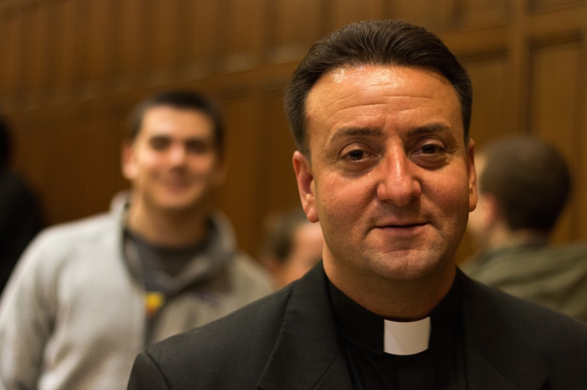 I DIDN'T WANT THIS: Beloved Fr. Florio ordered to leave Fordham